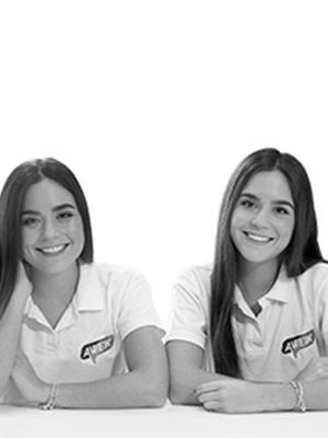 Alejandra Peña y Vanessa Peña